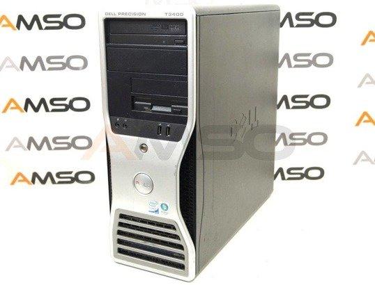 DELL Precision T3400 E8400 2x3.0GHz 4GB 250GB DVD NVS Windows 10 Home PL