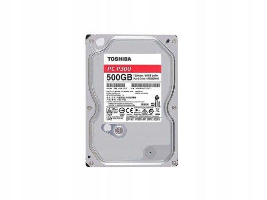 "DYSK TWARDY TOSHIBA P300 3,5"" 500GB"