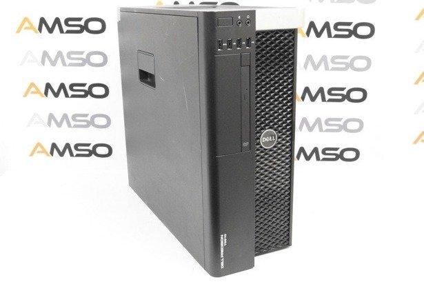 Dell Precision T5610 2xE5-2620v2 2.1GHz 16GB 240GB SSD NVS DVD Windows 10 Professional PL Klasa A- U1