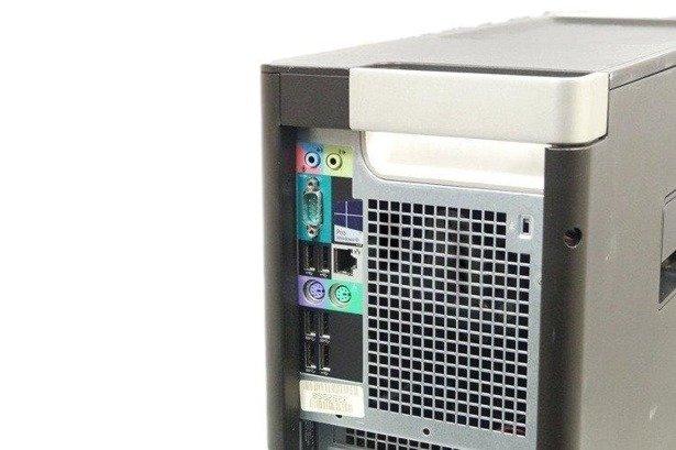 Dell Precision T5610 2xE5-2620v2 2.1GHz 32GB 500GB +240SSD NVS DVD Windows 10 Professional PL