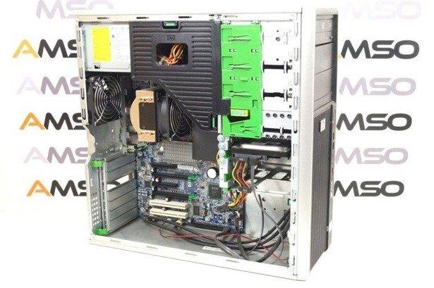 HP WorkStation Z400 W3520 4x2.66GHz 12GB 120GB SSD DVD NVS