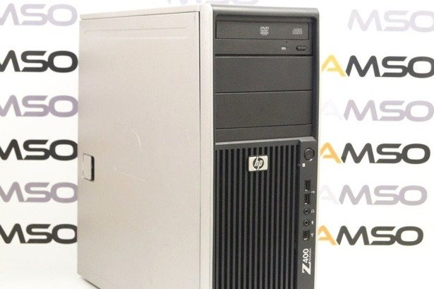 HP WorkStation Z400 W3520 4x2.66GHz 12GB 480GB SSD DVD NVS Windows 10 Home PL