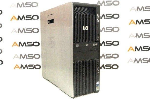 HP WorkStation Z600 E5620 4x2.4GHz 8GB 240GB SSD NVS DVD