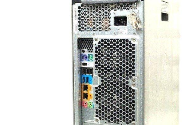 HP WorkStation Z620 2xE5-2690v2 10x3.0GHz 64GB 480GB SSD NVS DVD Windows 10 Professional PL