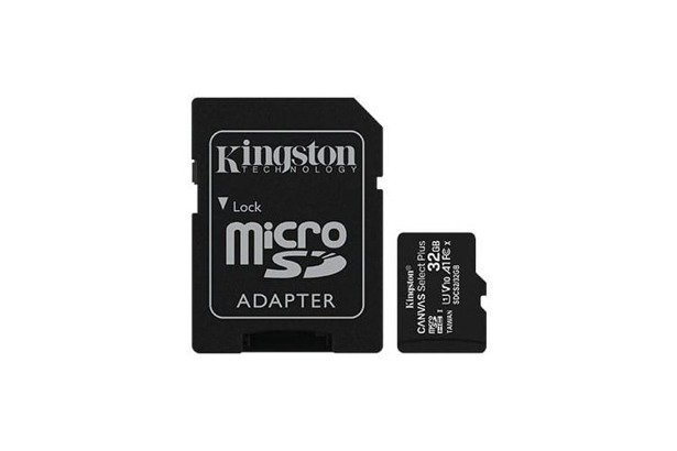 Karta microSDHC KINGSTON Canvas Select Plus 32GB