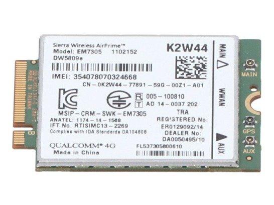 Modem WWAN Sierra K2W44, DW5809e LTE 4G