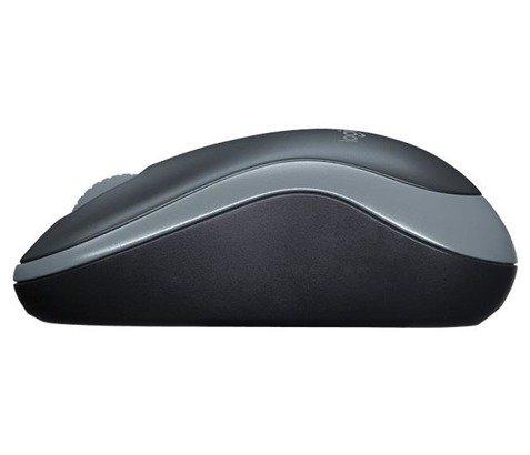 Mysz Bezprzewodowa Logitech M185 nano czarna