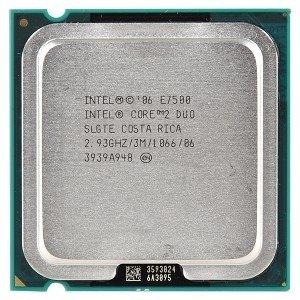 Procesor Intel Core 2 Duo E7500 2x2.93GHz