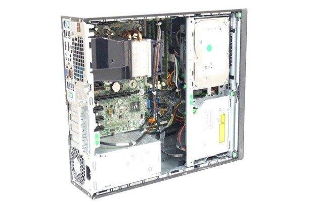 "ZESTAW KOMPUTEROWY HP 600 G1 SFF i5-4570 8GB 240GB SSD WIN 10 HOME + TERRA 2311W 23"" IPS"